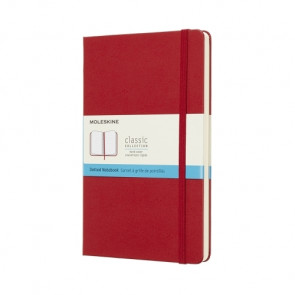 Large Dotted Notebook Rood Softcover | Moleskine