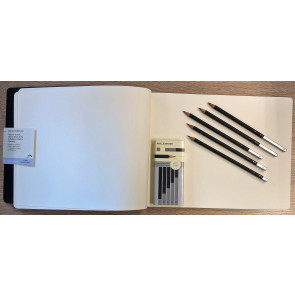 Sketch Album XXL Art Collection + Pencil Set 5HH | Moleskine