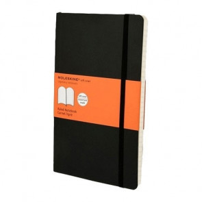 Large Notebook Softcover Gelinieerd | Moleskine