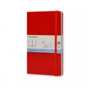 Large Sketchbook Hardcover Blanco Red | Moleskine