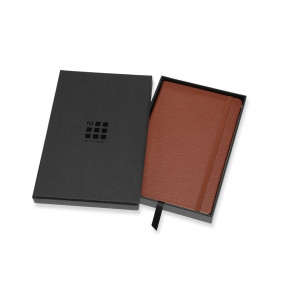 Large Notebook Sienna Brown Leather Hardcover Ruled | Moleskine Limited Collection