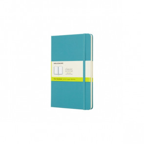 Large Notebook Reef Blue Hardcover Blanco | Moleskine